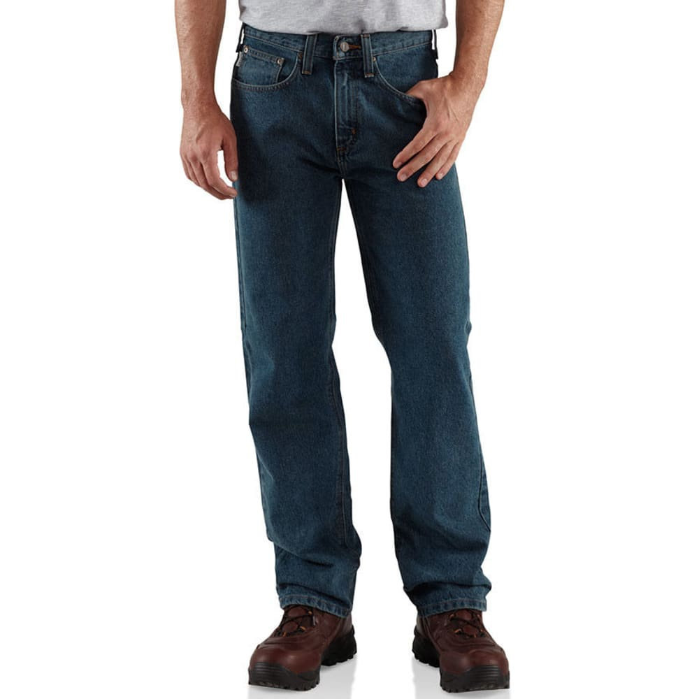 CARHARTT Men's Straight Leg Relaxed Fit Jeans - LIGHT VINTAGE
