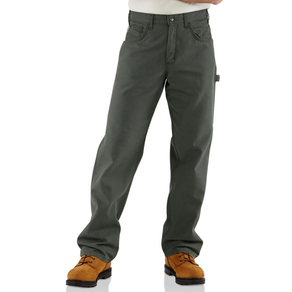 CARHARTT Men's Midweight Flame Resistant Jeans - MOSS