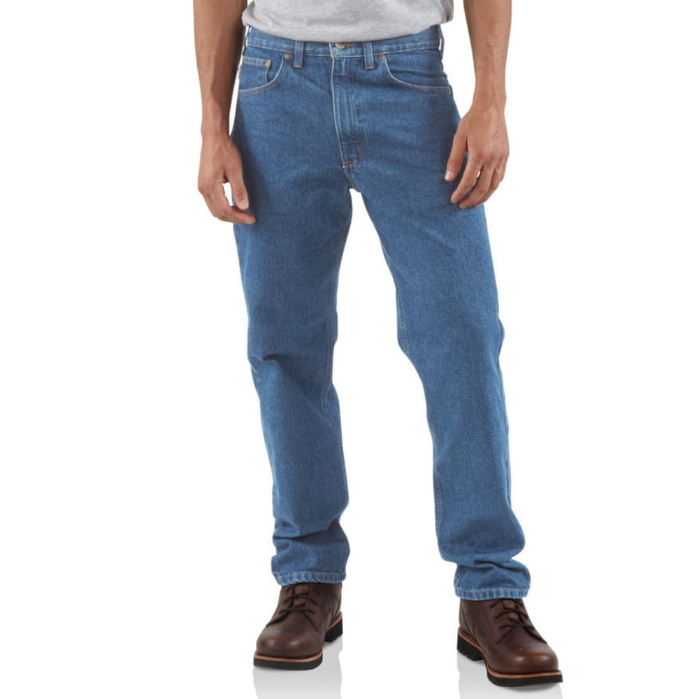 CARHARTT Men's Traditional Workwear Jeans - STONEWASH