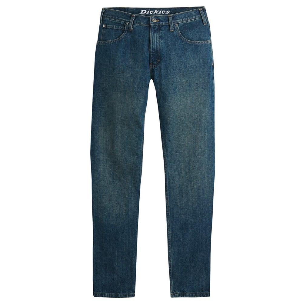 DICKIES Men's Slim Fit Taper Leg Jeans - INDIGO
