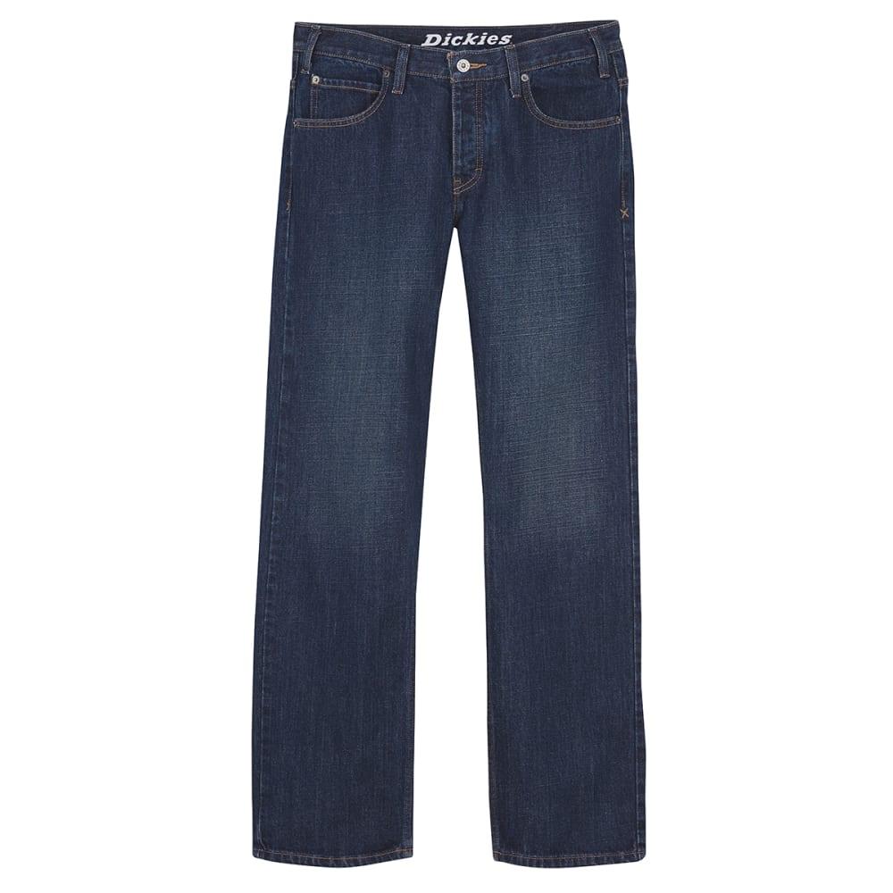 DICKIES Men's Regular Fit Straight Leg Jeans - INDIGO BLUE