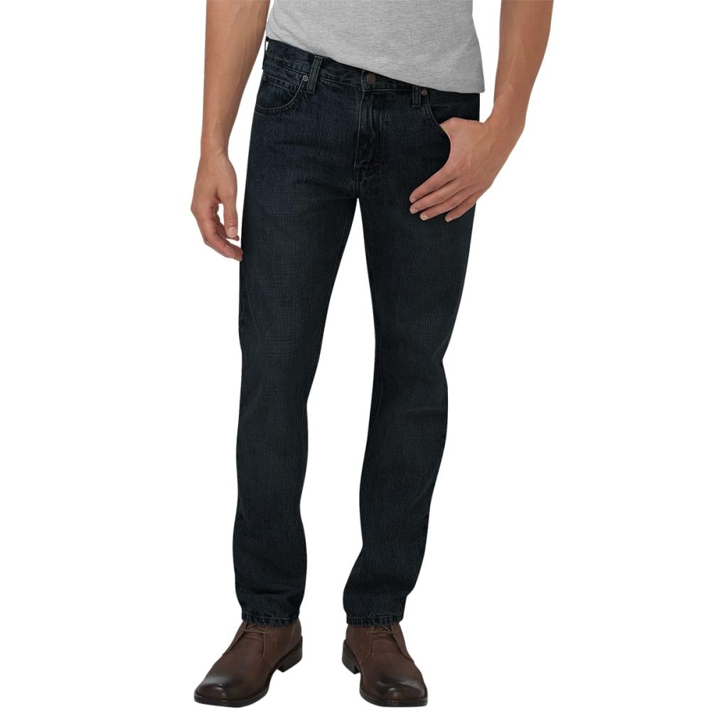 DICKIES Men's Slim Straight Leg Jeans - BLACK
