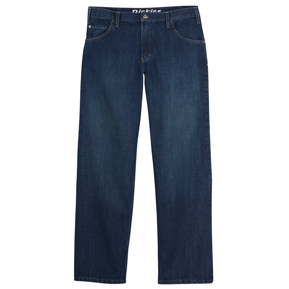 DICKIES Men's Loose Fit Straight Leg Jeans - INDIGO BLUE
