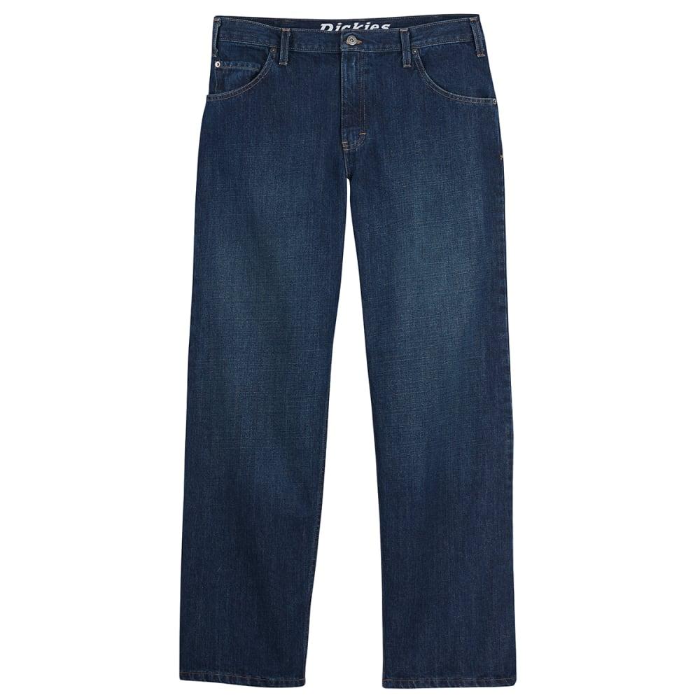DICKIES Men's Loose Fit Straight Leg Jeans - INDIGO BLUE