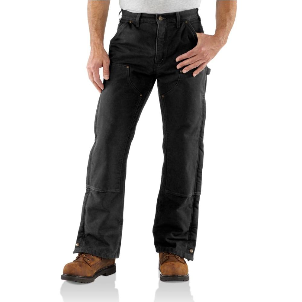 CARHARTT Men's Sandstone Insulated Pants - BLACK