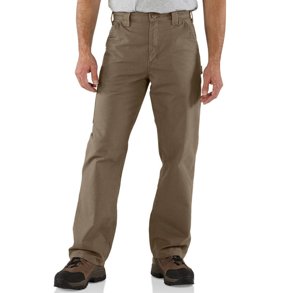 CARHARTT Men's Canvas Work Dungarees, Extended sizes - LIGHT BROWN