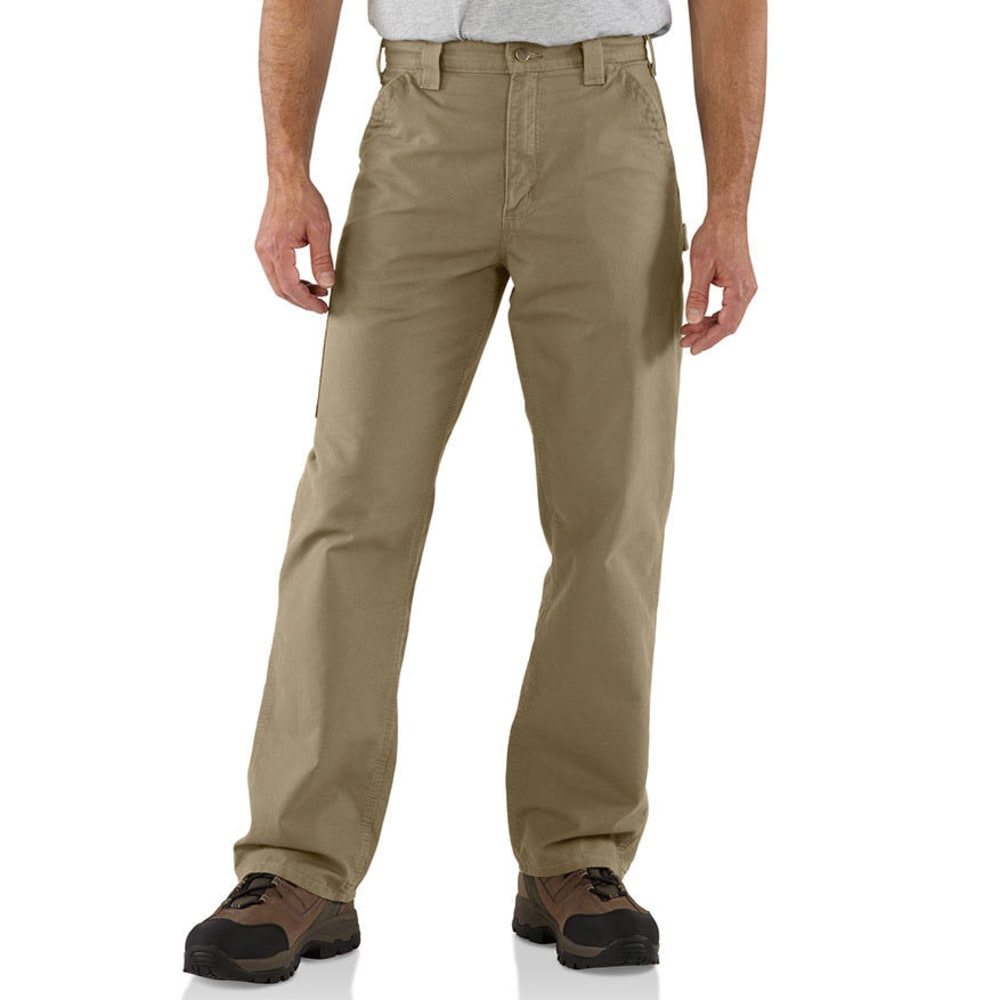 CARHARTT Men's Canvas Utility Work Pants, Extended Sizes 50/32