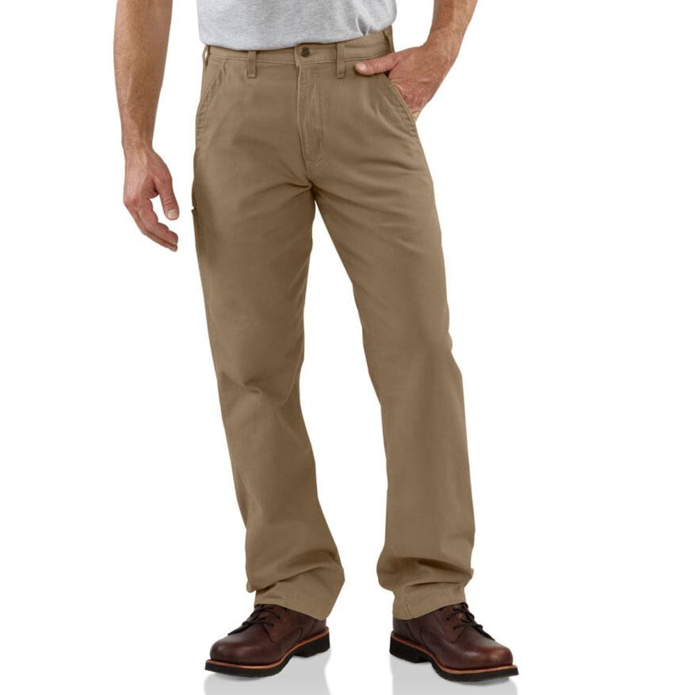 CARHARTT Men's Canvas Workwear Khakis - GOLDEN KHAKI