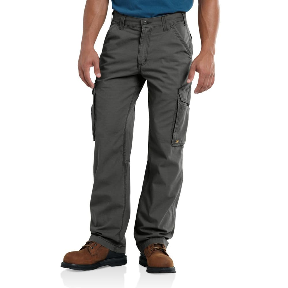 Carhartt Men's Force Tappen Cargo Pants - Black, 32/30