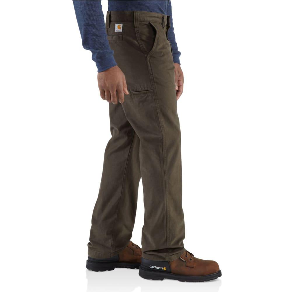 CARHARTT Men's Rugged Work Khaki Pants - DARK COFFEE