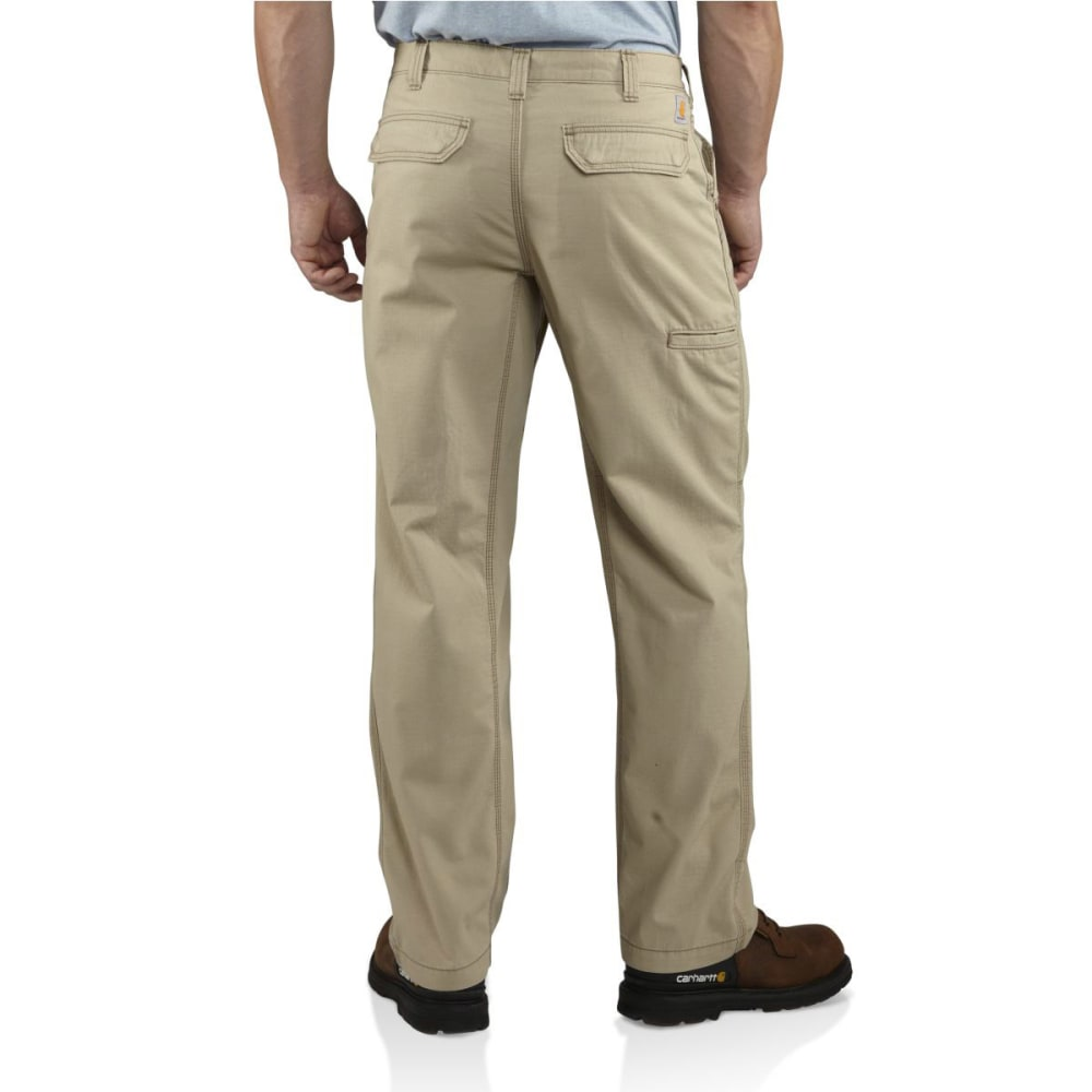 CARHARTT Men's Tacoma Ripstop Pants, 32 in. - TAN