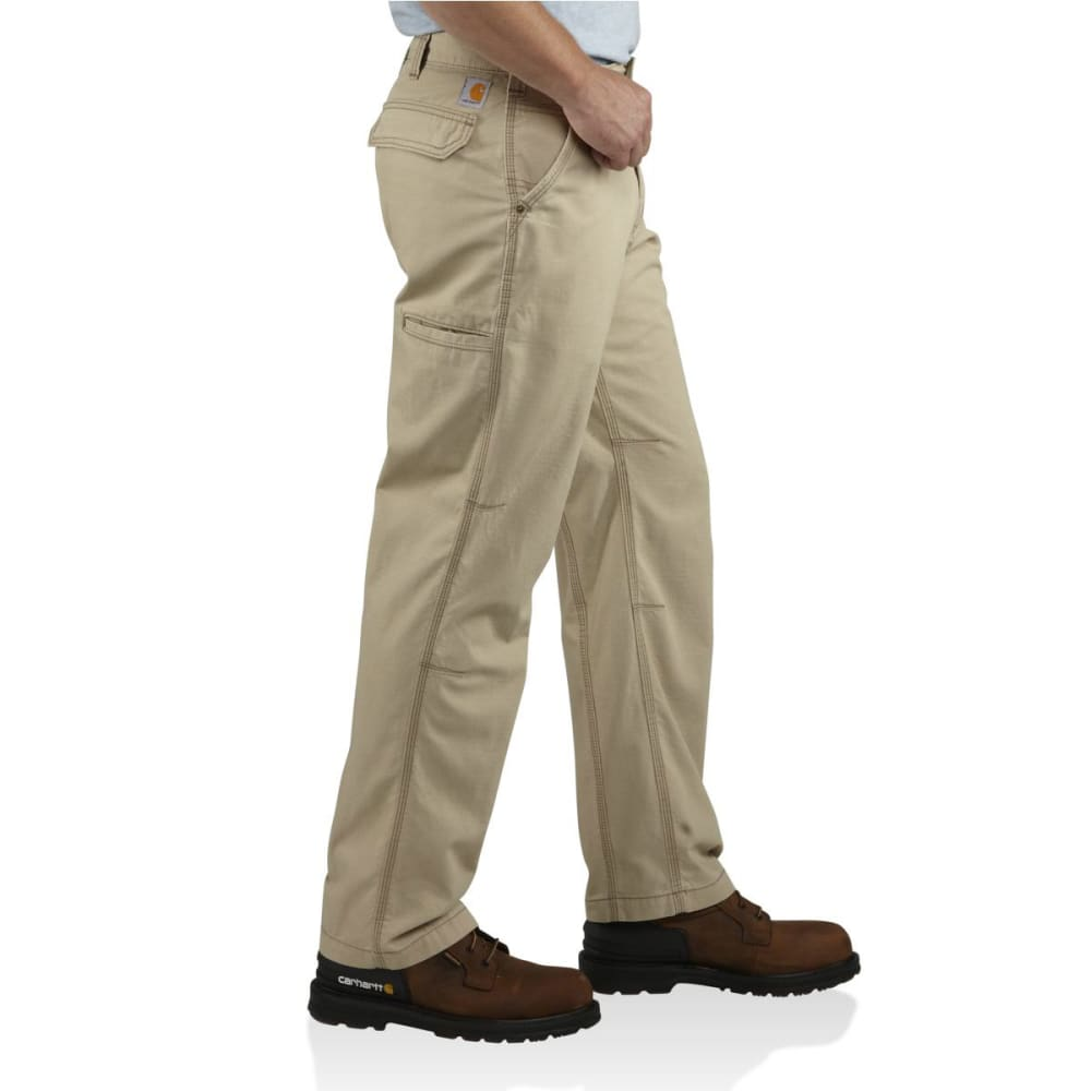 CARHARTT Men's Tacoma Ripstop Pants, 32 in. - TAN