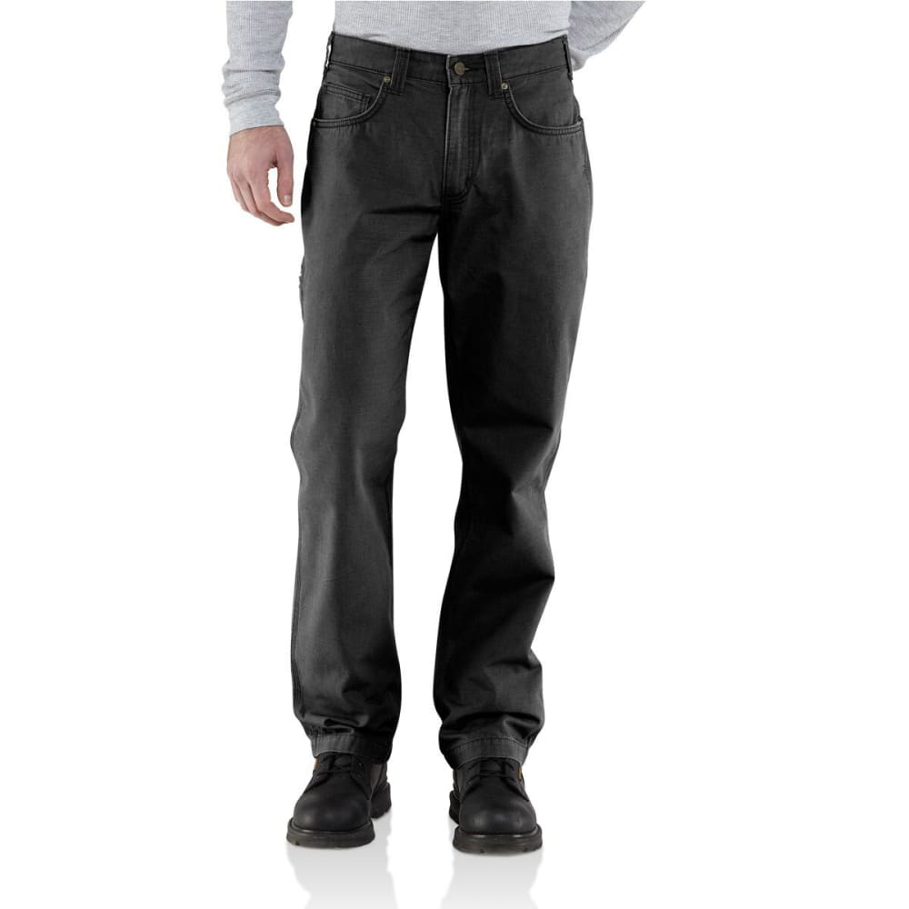 CARHARTT Men's Ripstop Cell Phone Pants - BLACK