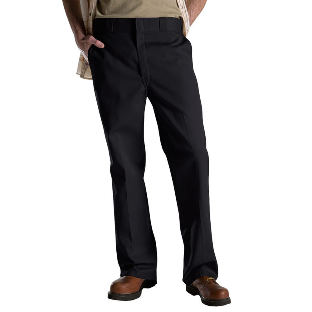 Dickies Men's 874 Work Pants - Black, 46/30