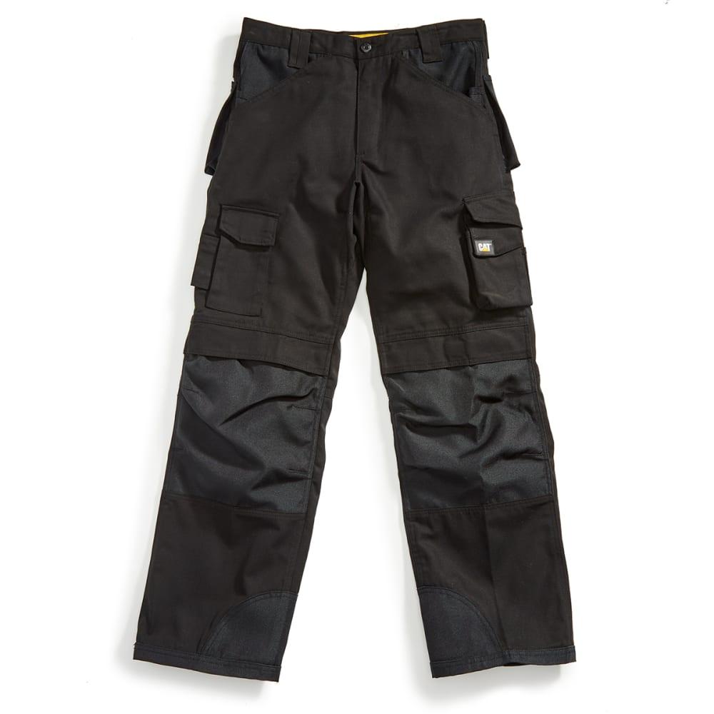 CAT Men's Trademark Multi Pocket Utility Pants - BLACK 016