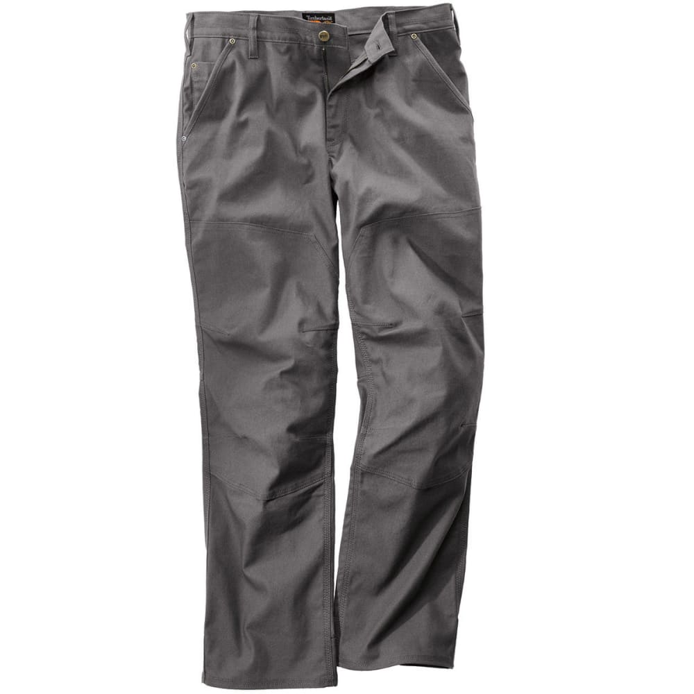 TIMBERLAND PRO Men's Gridflex Insulated Canvas Work Pants - PEWTER 060