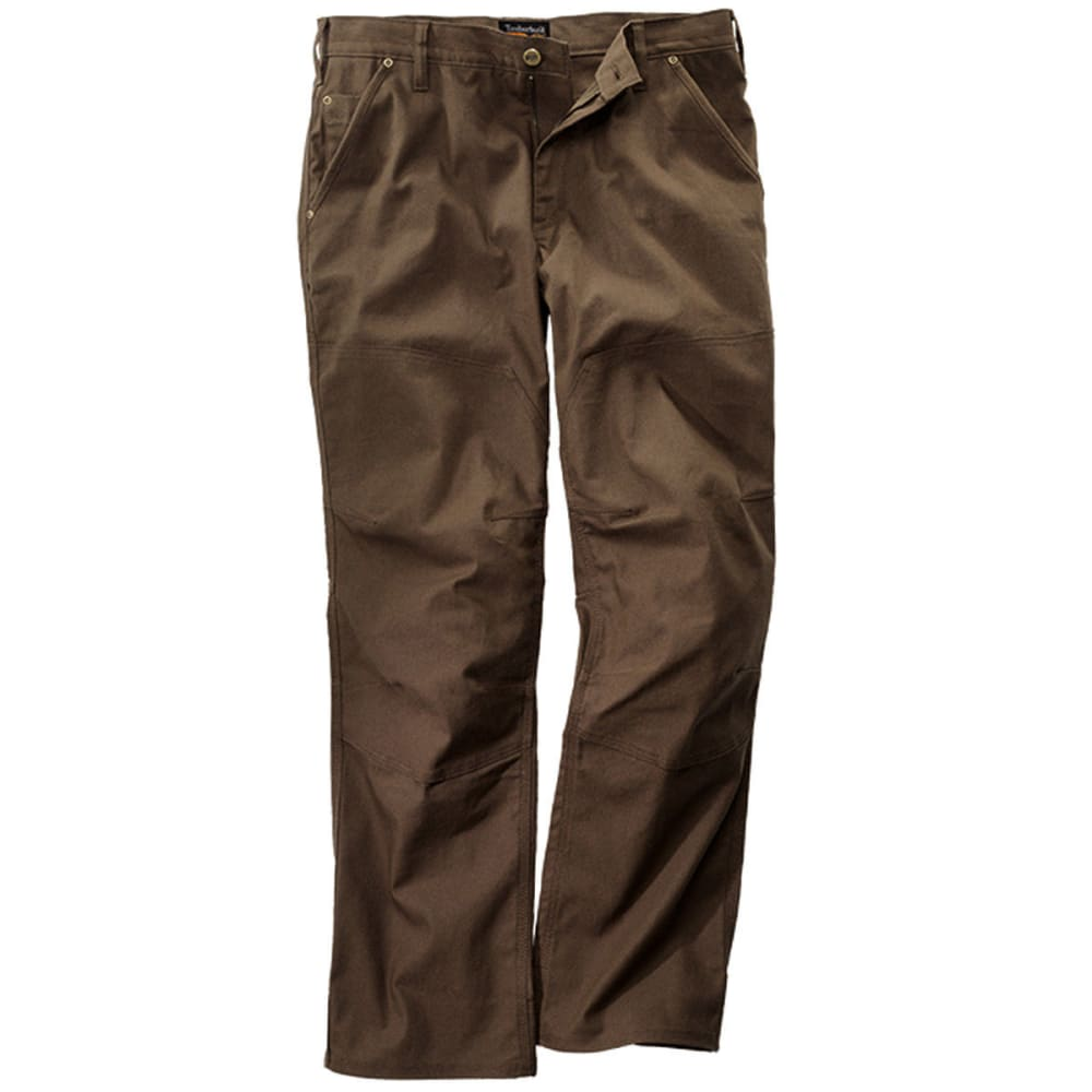 TIMBERLAND PRO Men's Gridflex Insulated Canvas Work Pants - DK BROWN 242
