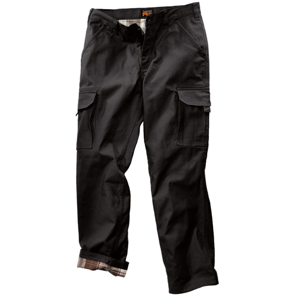 TIMBERLAND PRO Men's Gridflex Flannel Lined Canvas Work Pants 34/32