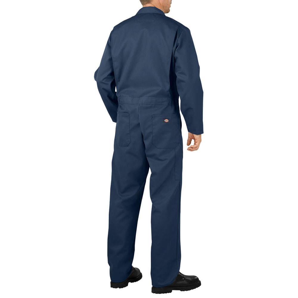 DICKIES Men's Basic Blended Coveralls - DN DK NAVY