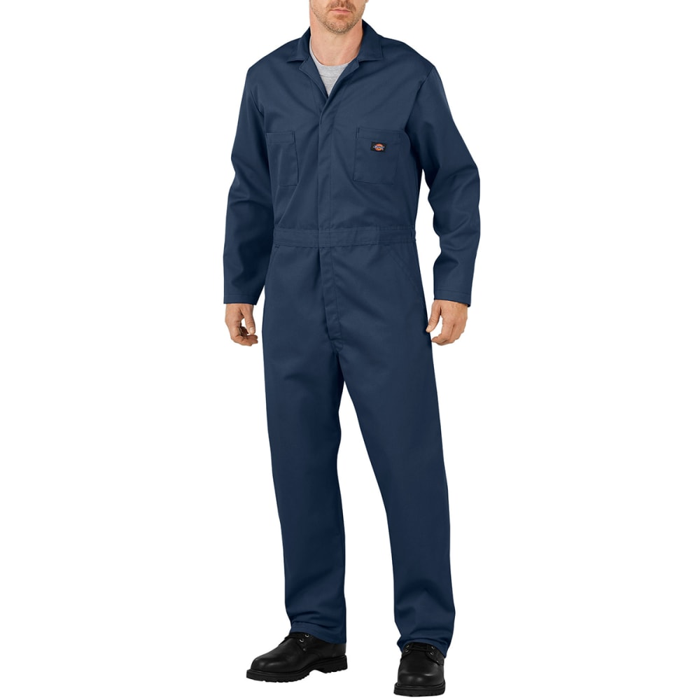 Dickies Men's Basic Blended Coveralls - Blue, S/30