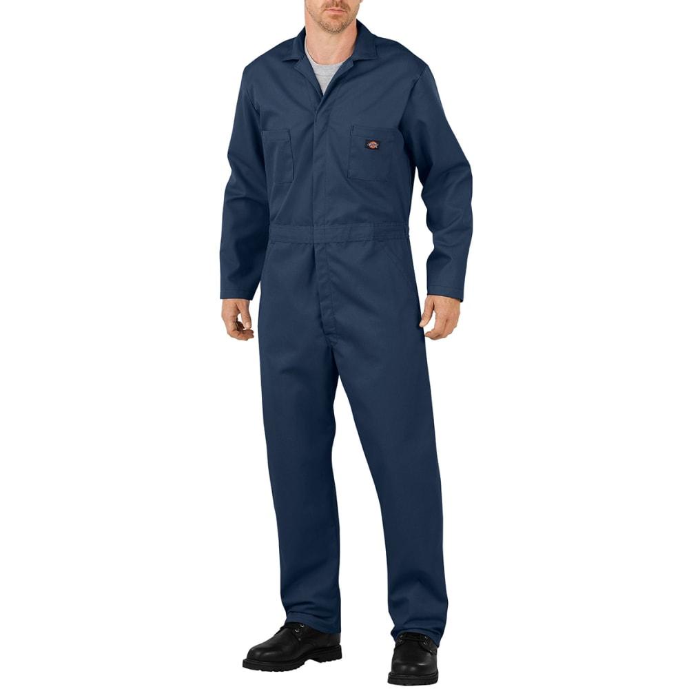 DICKIES Men's Basic Blended Coveralls - DN DK NAVY