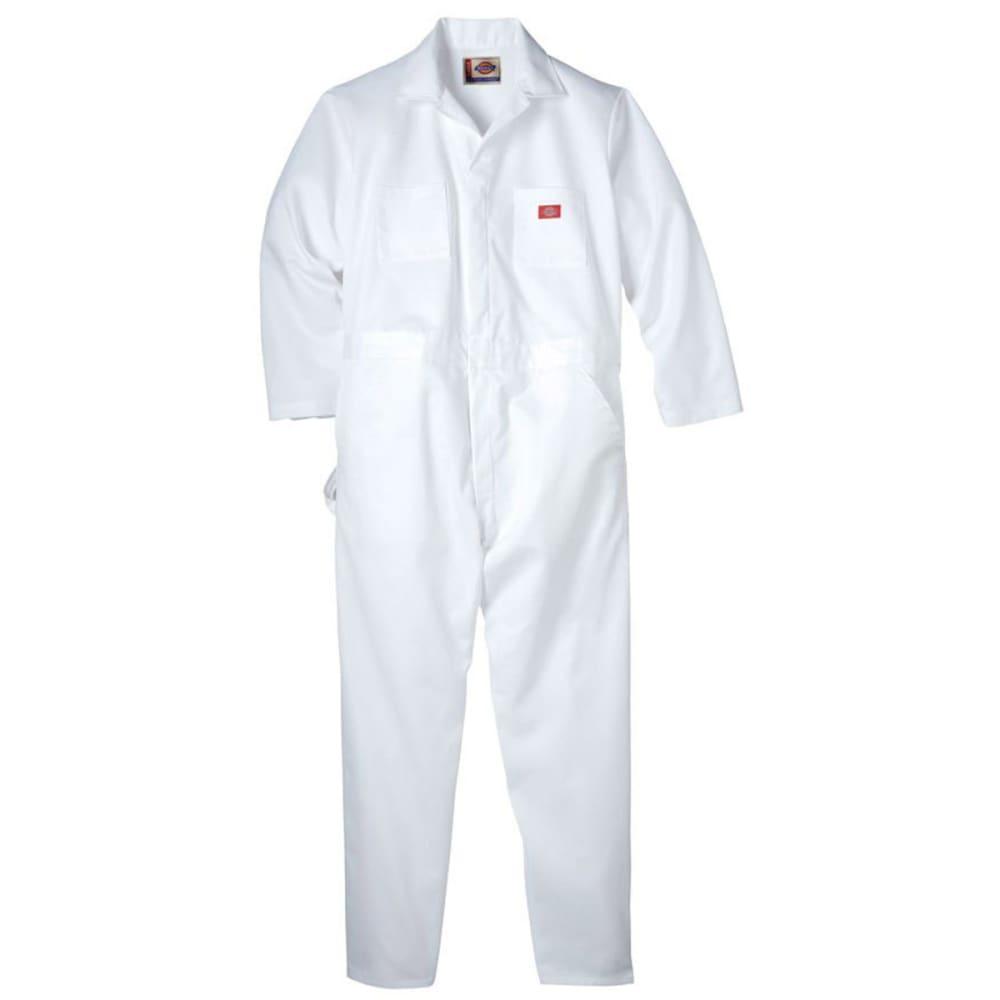 DICKIES Men's Long Sleeve Utility Painter's Coveralls - WHITE