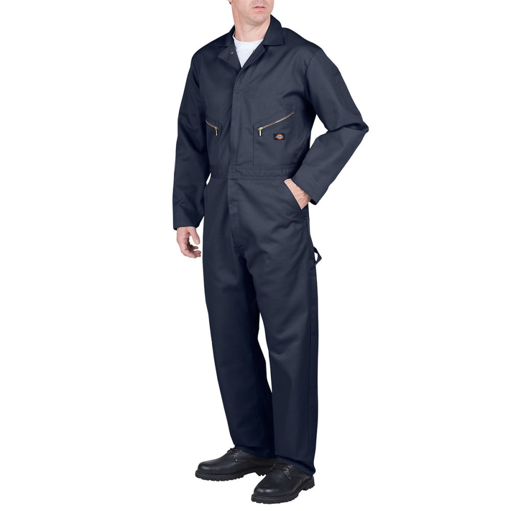 DICKIES Men's Deluxe Blended Coveralls - DN DK NAVY