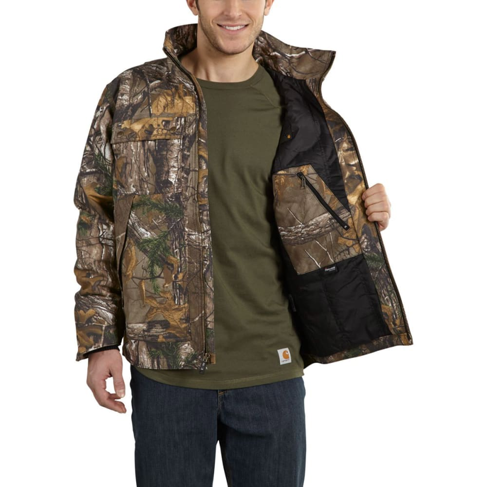 CARHARTT Men's Quick Duck® Camo Traditional Jacket - REAL TREE
