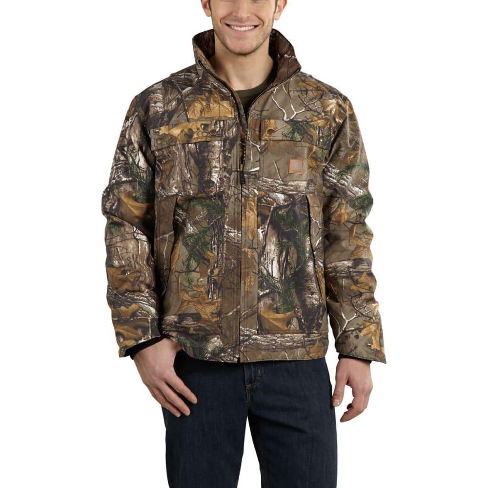 CARHARTT Men's Quick Duck® Camo Traditional Jacket - REAL TREE