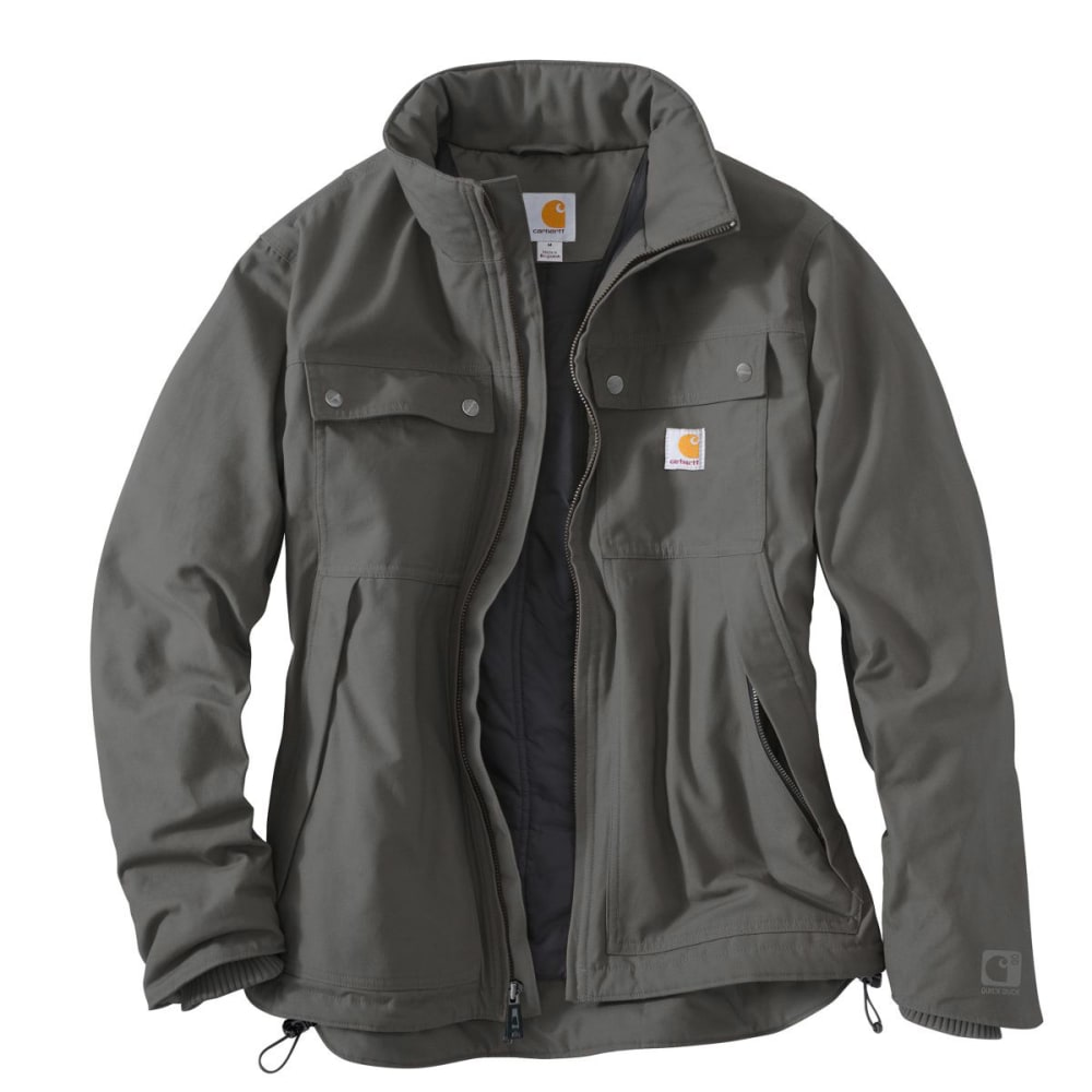 CARHARTT Men's Quick Duck® Jefferson Traditional Jacket - CHARCOAL