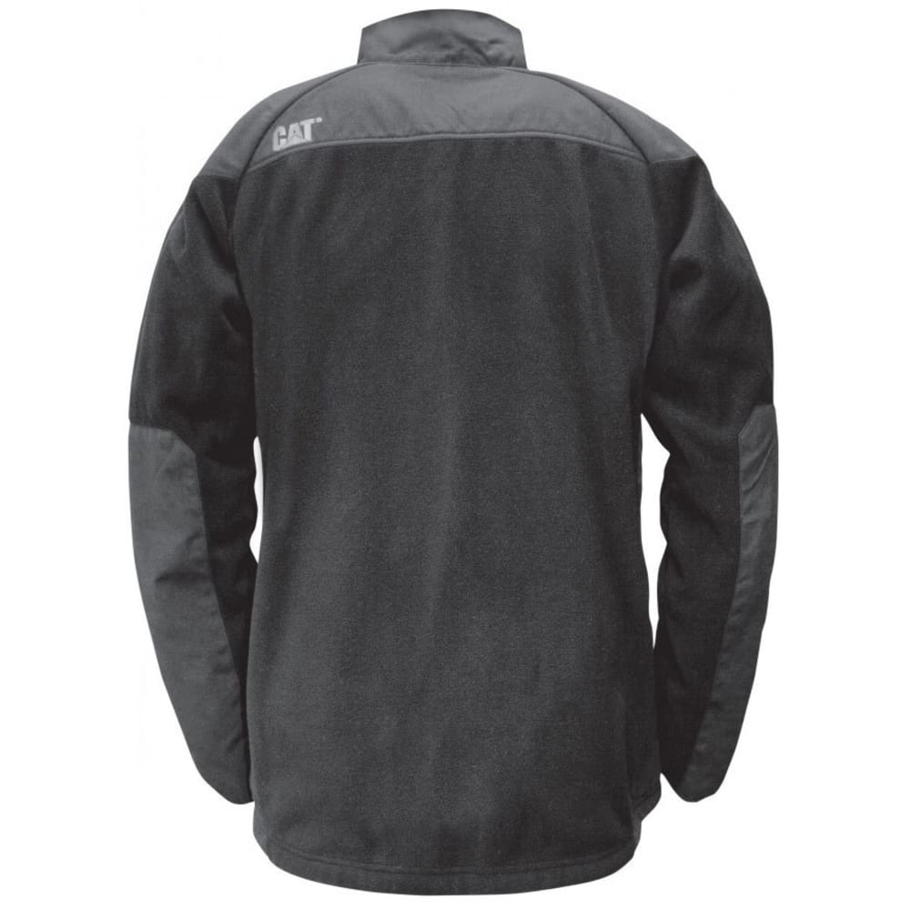 CATERPILLAR Men's Momentum Fleece Jacket - 016 BLACK