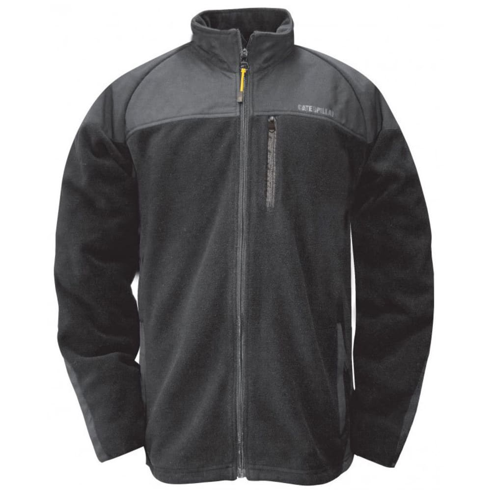 CATERPILLAR Men's Momentum Fleece Jacket - Black, M