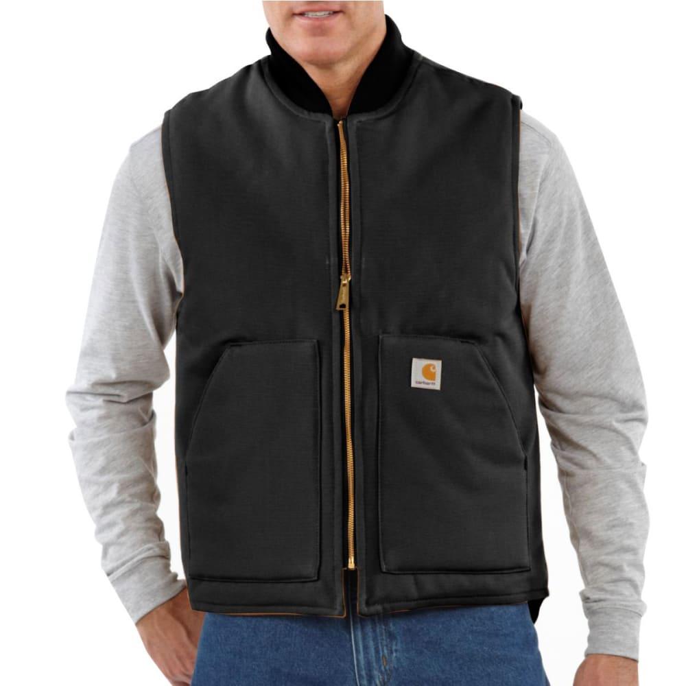 CARHARTT Men's Arctic Quilt-Lined Vest - BLACK