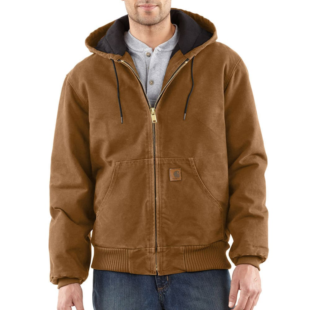 CARHARTT Men's Sandstone Duck Jacket - BROWN