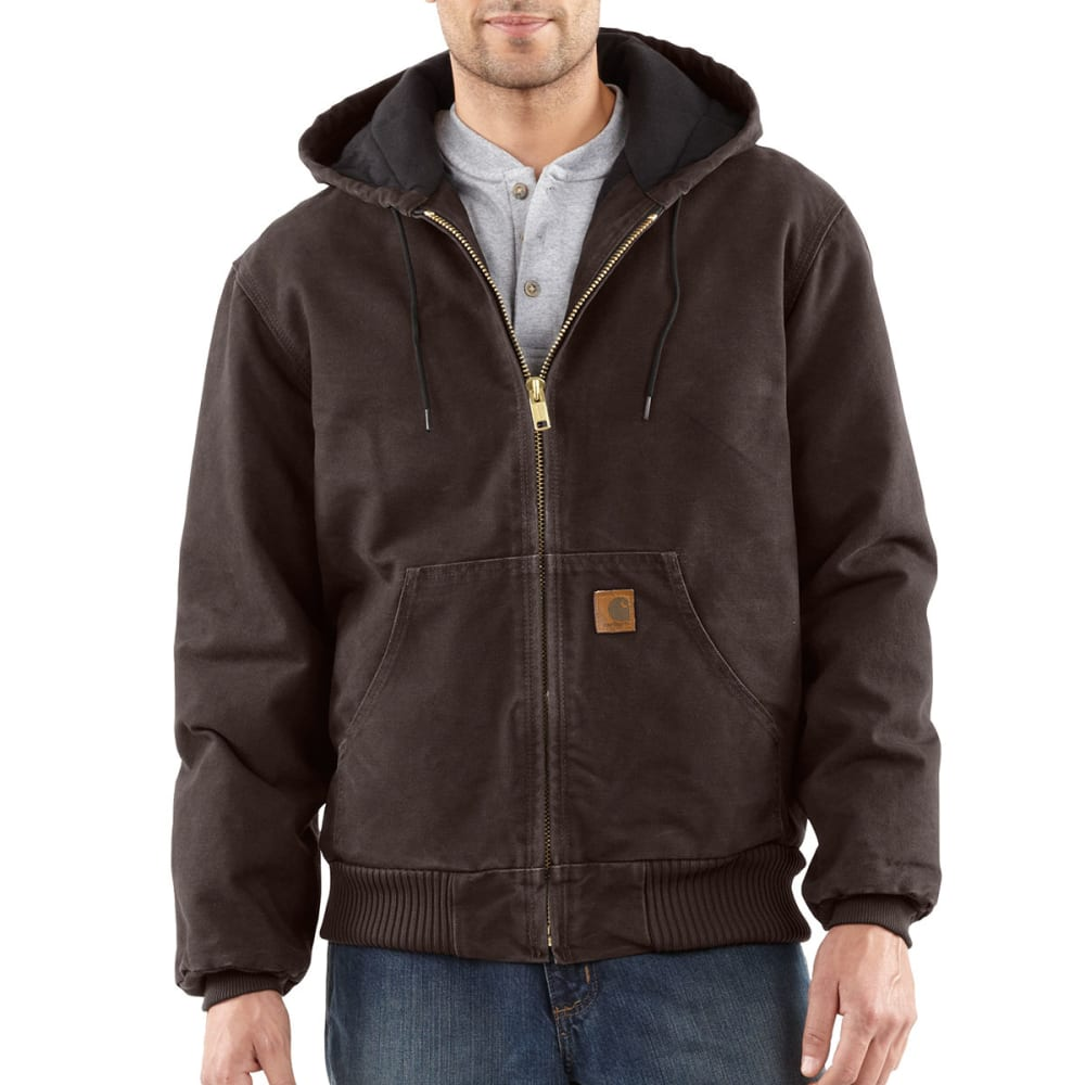 Carhartt Men's Sandstone Duck Jacket - Brown, XL
