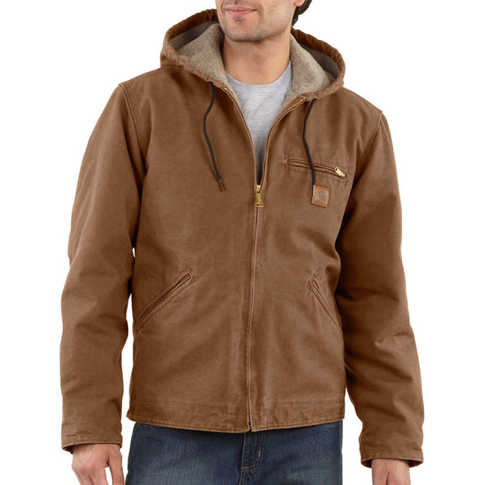 Carhartt Men's Sierra Jacket - Brown, XL