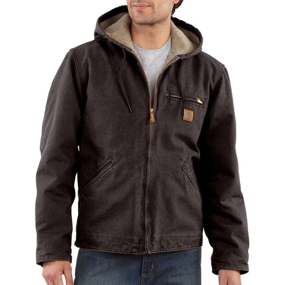 CARHARTT Men's Sierra Jacket - DKB DARK BROWN