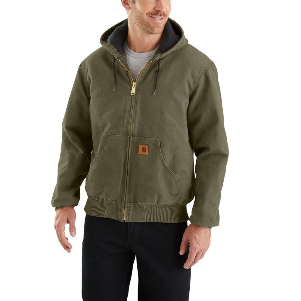 CARHARTT Men's Sandstone Duck Jacket, Extended Sizes 5XL