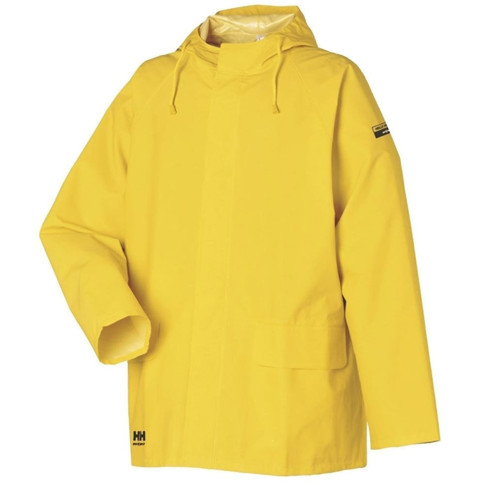 HELLY HANSEN Men's Mandal Rain Jacket - YELLOW 300