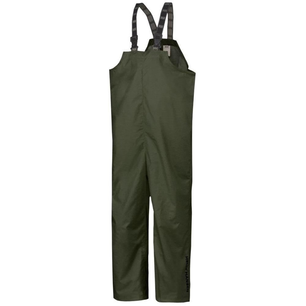 HELLY HANSEN Men's Mandal Bib Overalls - GREEN 400