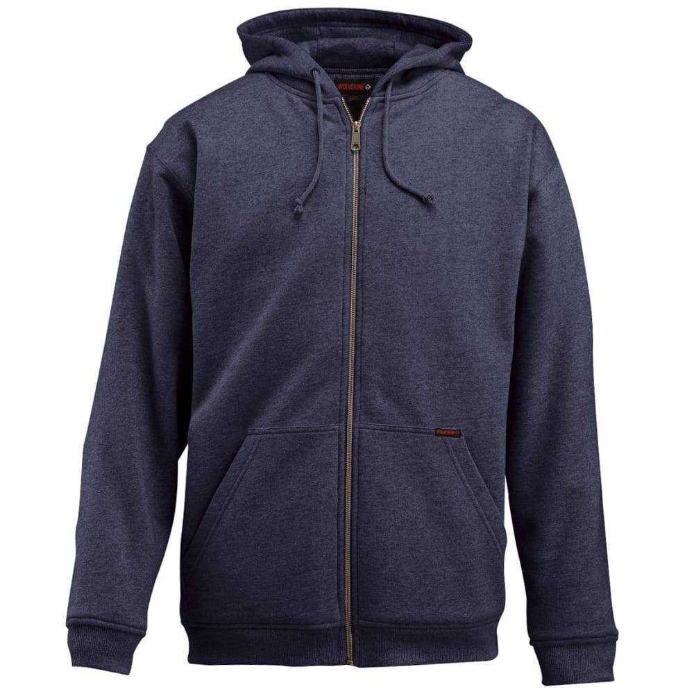 WOLVERINE Men's Regulator Wind Stopper Fleece Jacket - 417 NAVY