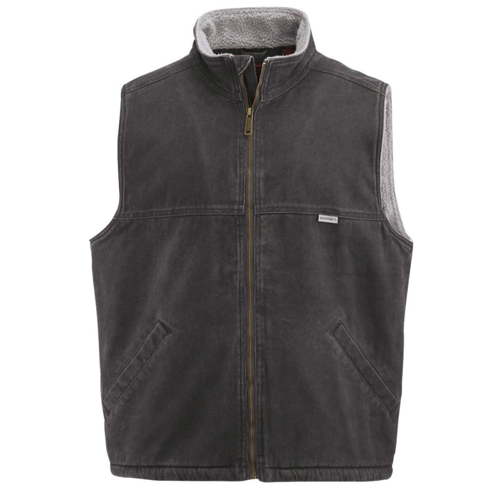 WOLVERINE Men's Upland Sherpa Lined Vest - 003 BLACK