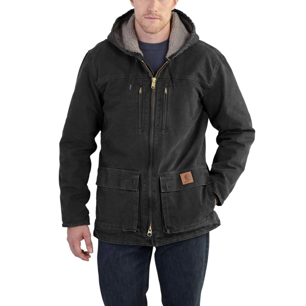 CARHARTT Men's Sandstone Jackson Coat - BLK BLACK