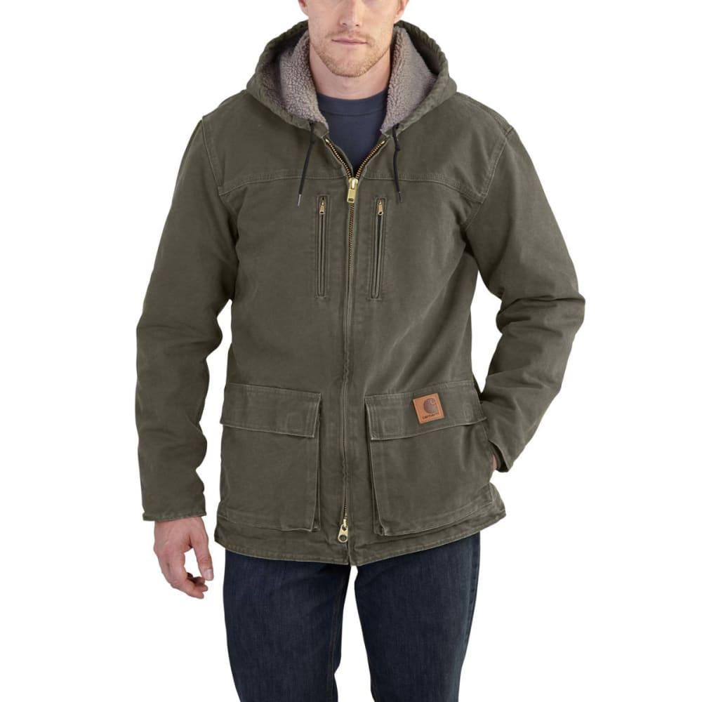 CARHARTT Men's Sandstone Jackson Coat - MOS MOSS