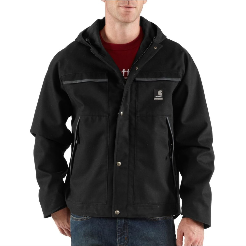 CARHARTT Men's Ketchikan Jacket - BLACK