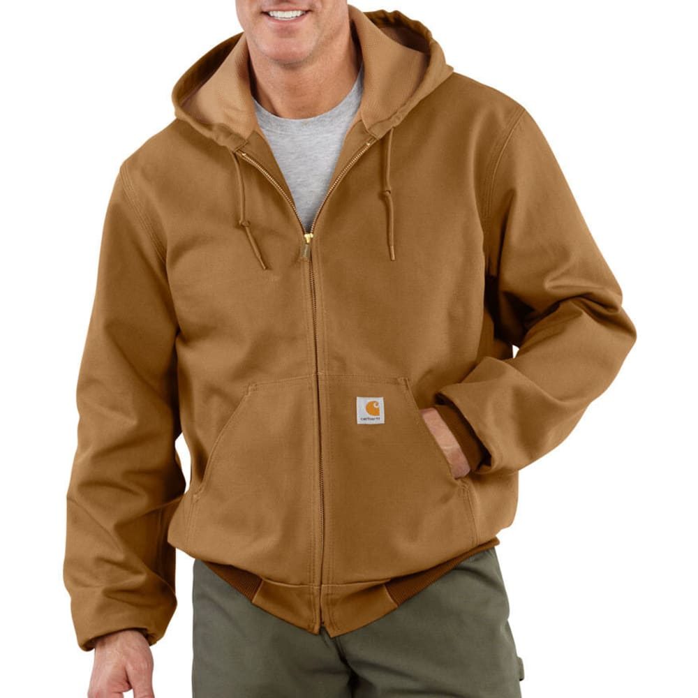 CARHARTT Men's Duck Active Thermal Lined Jacket, Extended Sizes XXL TALL