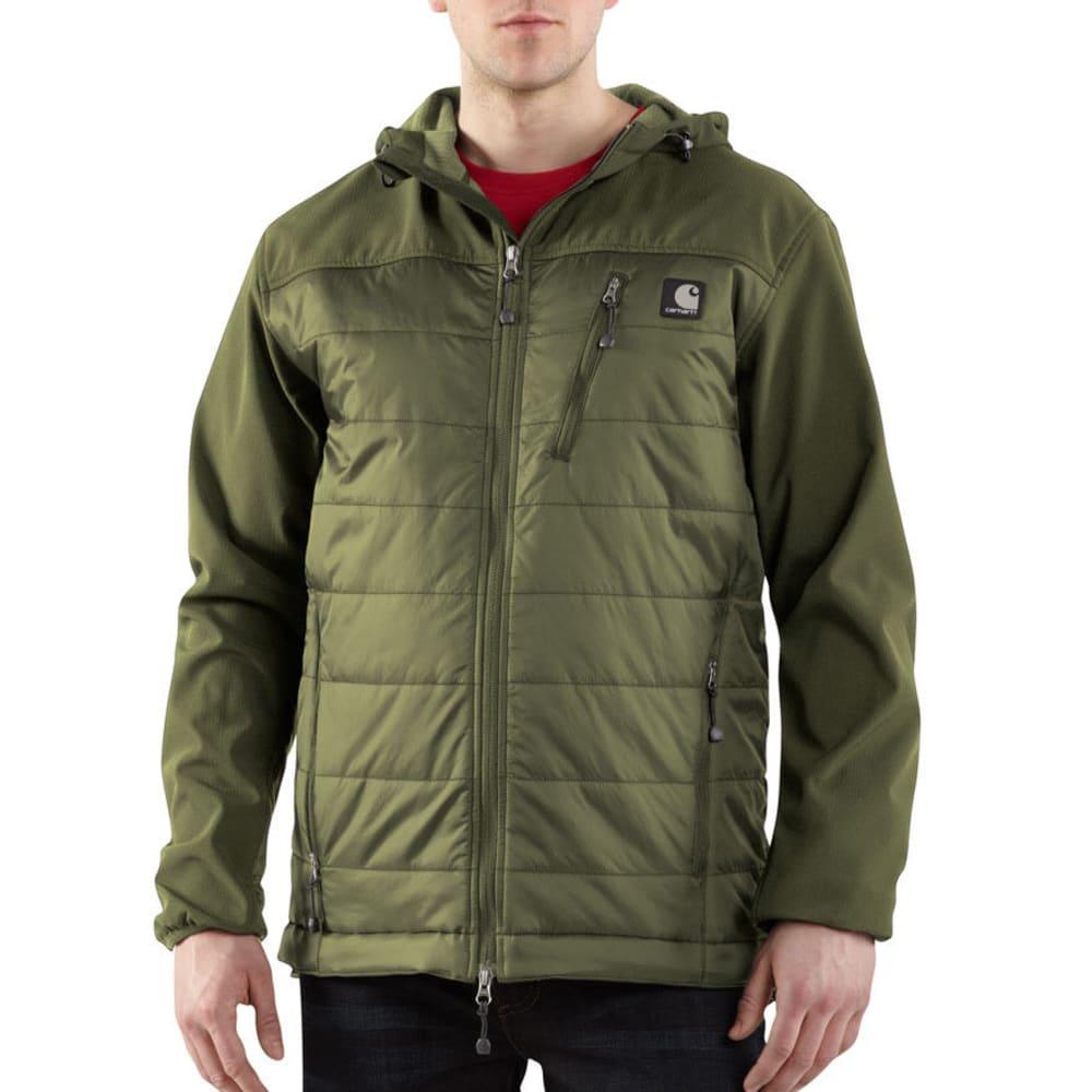 CARHARTT Men's Soft Shell Hybrid Jacket - ARMY GREEN