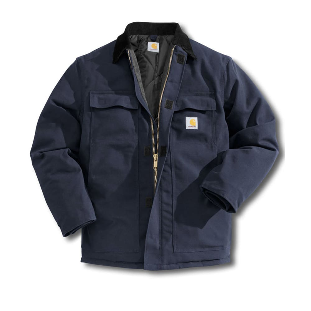 CARHARTT Men's Arctic Traditional Quilt Lined Coat - DARK NAVY