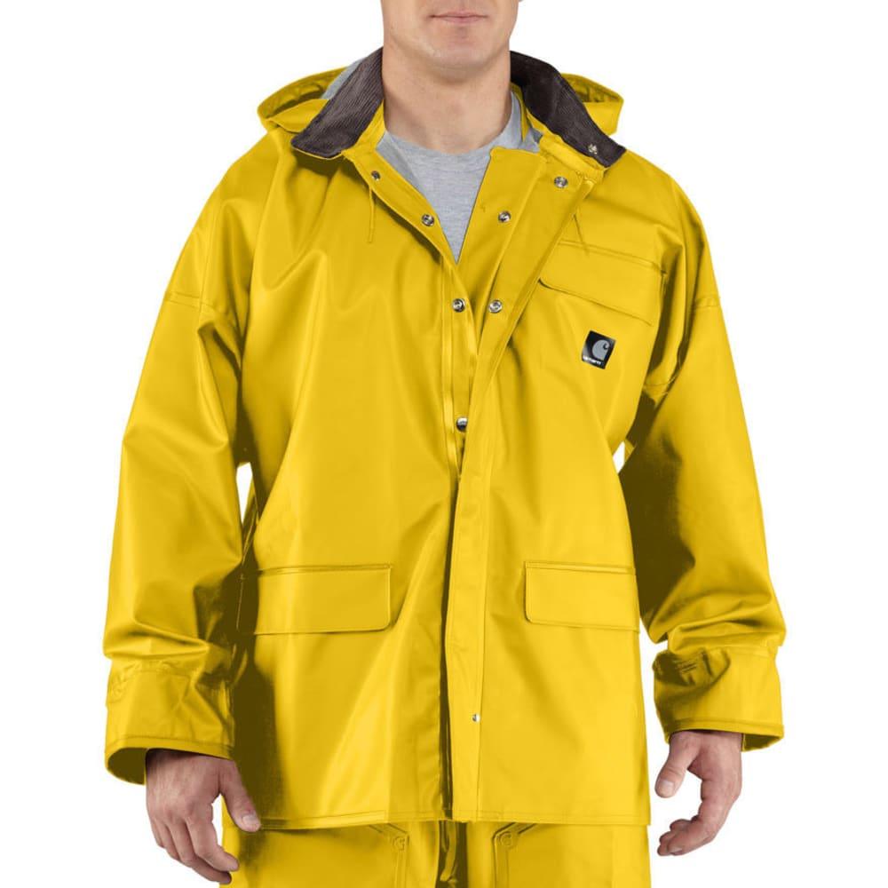 CARHARTT Men's Surrey PVC Rain Coat - YELLOW 701