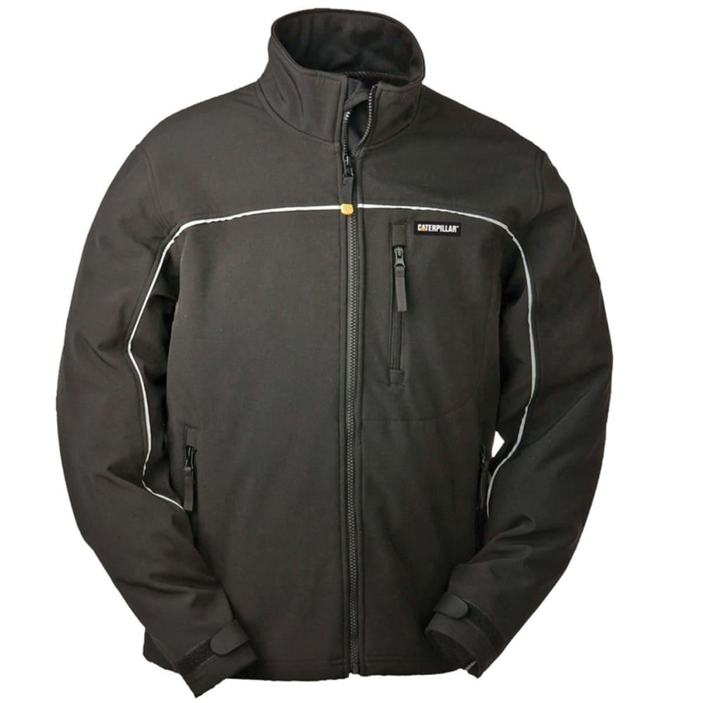 CAT W11440 Soft Shell Jacket - 016 BLACK